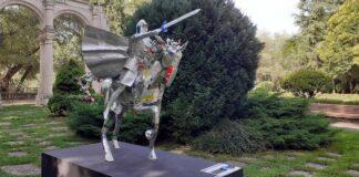El parque de la Isla acoge varias esculturas