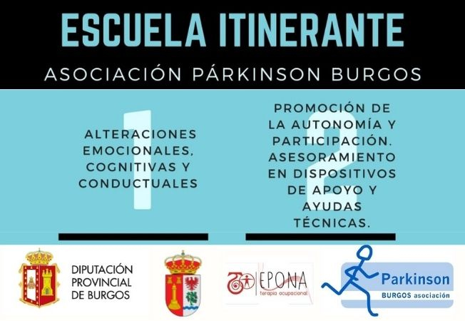 Escuela Itinerante de Parkinson Burgos
