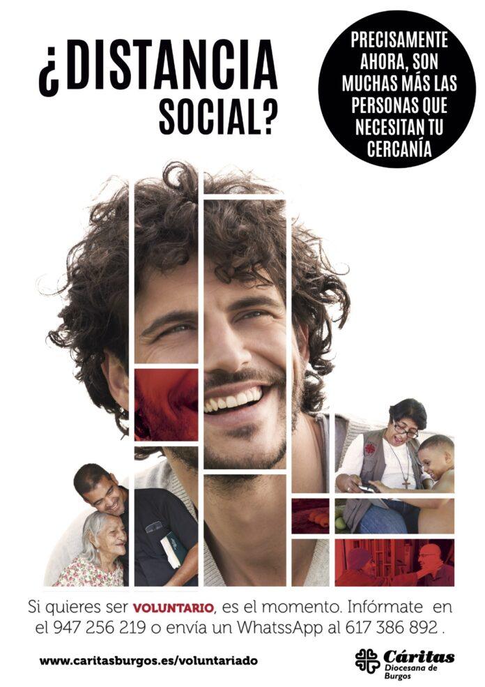 Esta campaña se difundirá a través de redes sociales, en medios de comunicación y por medio de carteles informativos en parroquias para romper la distancia social.